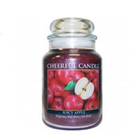 A Cheerful Candle JC08 15Oz. Juicy Apple Signature Colonial Jar