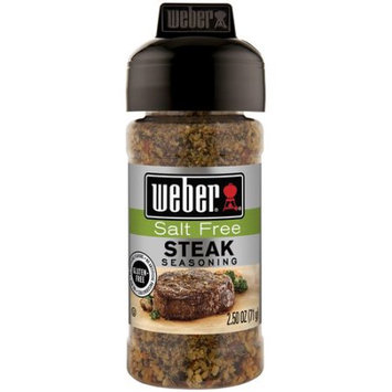 Generic Weber Salt Free Steak Seasoning, 2.5 oz