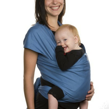 Moby Wrap Baby Carrier - Blue by