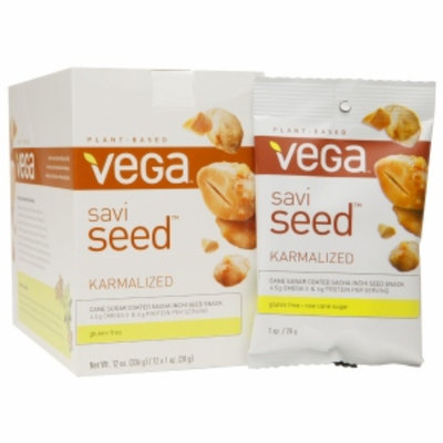 Vega Savi Seed, Karmalized, 1 oz, 12 ea
