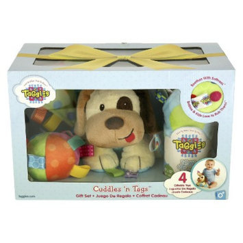 Taggies 4-Piece Cuddles 'n Tags Holiday Gift Set - Assorted