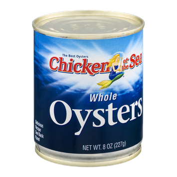 Chicken of the Sea Whole Oysters