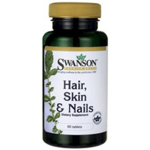 Swanson Premium Hair, Skin & Nails 60 Tabs