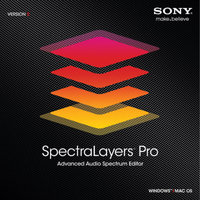SONY MEDIA SOFTWARE Sony SpectraLayers Pro 2 (PC/Mac)