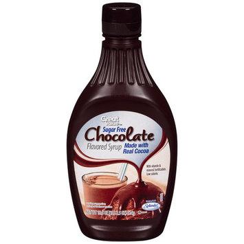 Great Value Sugar Free Chocolate Syrup, 18.5 oz