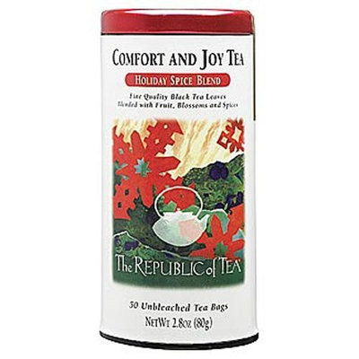 The Republic of Tea, Comfort & Joy Tea, 50-Count