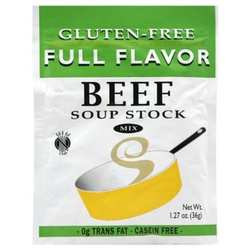 Full Flavor Foods Beef Soup Stock, 1.27-Ounce (Pack of 6)