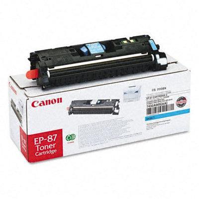 Canon EP87C EP-87 Toner Cartridge, Cyan