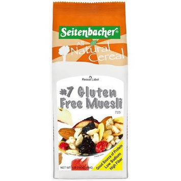 Seitenbacher Muesli #7 Gluten-Free, 13.2-Ounce Boxes (Pack of 3)