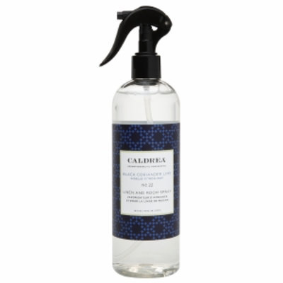 Caldrea Linen & Room Spray, Black Coriander Lime, 16 fl oz
