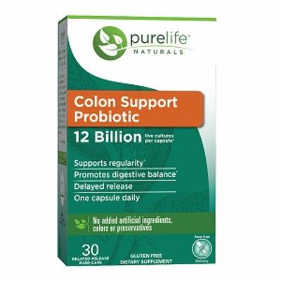 Pure Life 12 Billion Colon Support Probiotic