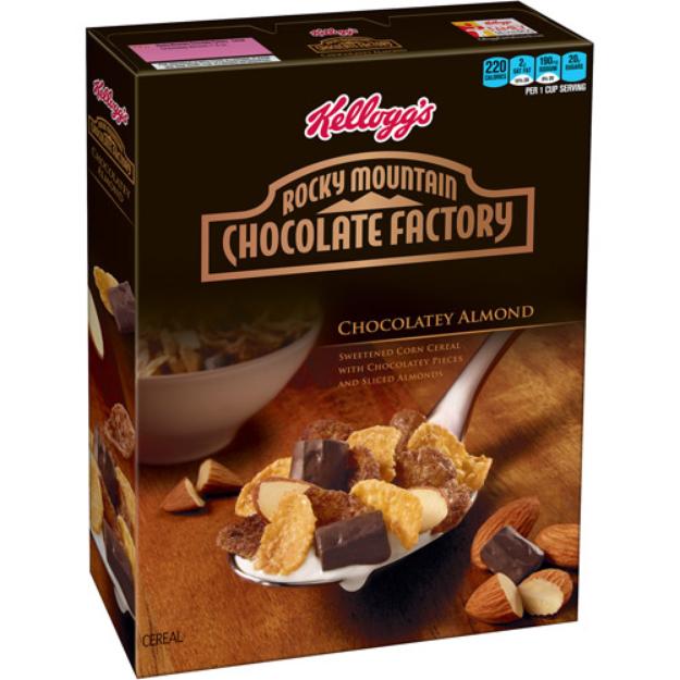 Kellogg's Rocky Mountain Chocolate Factory Chocolatey Almond Cereal