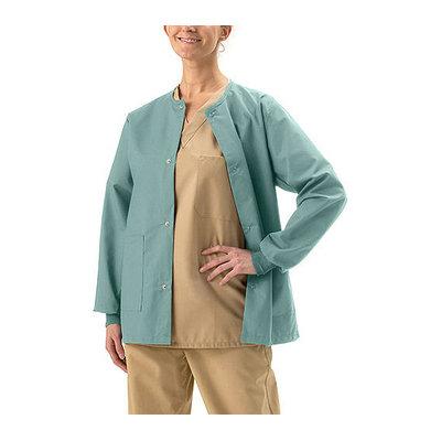 Medline - Unisex Snap-Front Warm Up Jacket