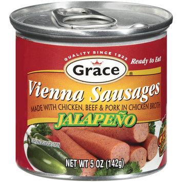 Grace Jalapeno Vienna Sausage, 5 oz