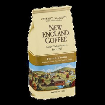 New England Coffee French Vanilla Medium Roasted Freshly Ground