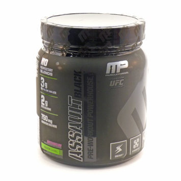 Muscle Pharm - Assault Black Pre-Workout Powerhouse Watermelon - 12.27 oz.