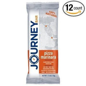 Journey Bar Nutrition Bars, Pizza Marinara, 1.76 Ounce (Pack of 12)