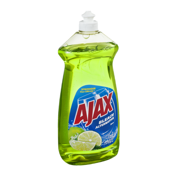 Ajax Bleach Alternative Lime Dish Liquid
