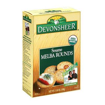 Devonsheer Sesame Melba Rounds