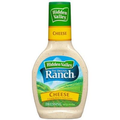 Hidden Valley Original Ranch Dressing, Cheese, 16 Fluid Ounce Bottle (Pack of 6)