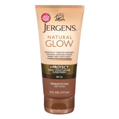 Jergens Natural Glow + Protect Daily Moisturizer SPF 20