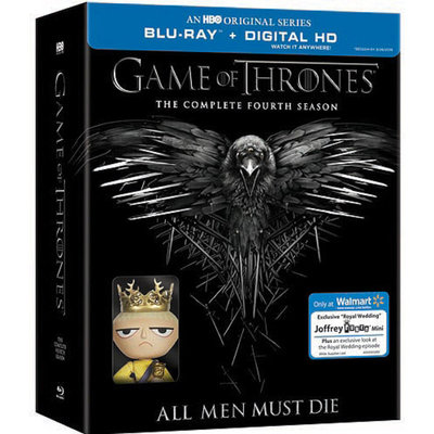 Game Of Thrones: The Complete Fourth Season (Walmart Exclusive) (Blu-ray + Digital HD) (Widescreen)