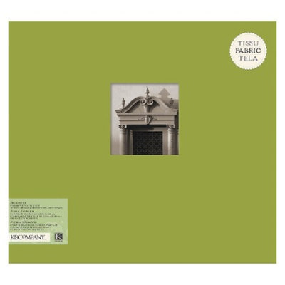 K&Company Fabric Scrapbook Green 12X12