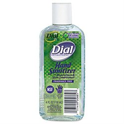 Dial DPR00685 Clear Antibacterial Hand Sanitizer with Moisturizers 4