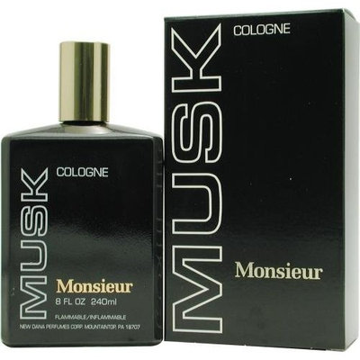 Monsieur Musk By Dana For Men. Cologne 8.0 Oz.