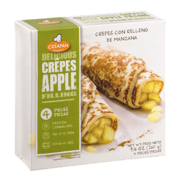 Creapan Delicious Crepes Apple Filling - 4 CT