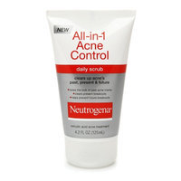 Neutrogena All-in-1 Acne Control Daily Scrub