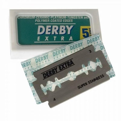15 Derby Extra Double Edge Razor Blades