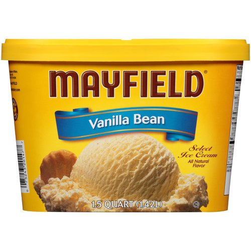Mayfield Vanilla Bean Select Ice Cream, 1.5 qt