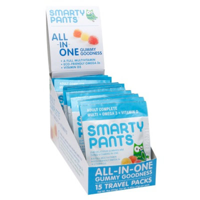 SmartyPants Adult Complete On-The Go Gummy Vitamin Packs, 15 ea