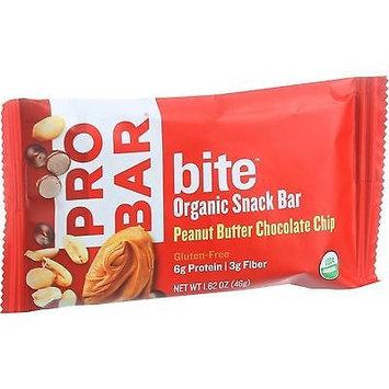 Probar Llc Probar Bite Peanut Butter Chocolate Chip Organic Snack Bar - 12 Count