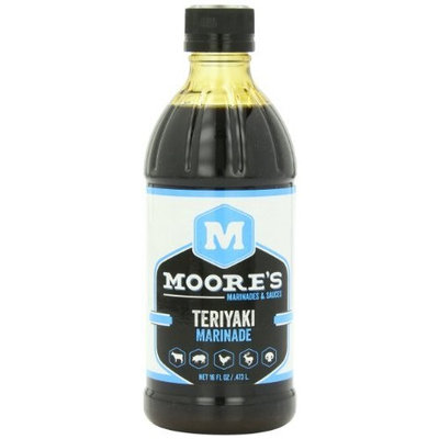 Moore s Moore's Marinade, Teriyaki, 16-Ounce (Pack of 6)