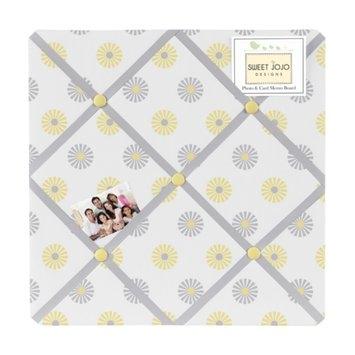 Sweet Jojo Designs Fabric Memory/ Memo Photo Bulletin Board in 'Mod Garden'