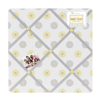 Sweet Jojo Designs Fabric Memory/ Memo Photo Bulletin Board in 'Mod Garden'