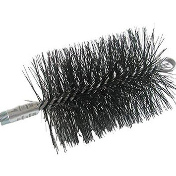Rutland MS-9 9 in. Diameter Round Master Sweep Round Wire Brush Head With .38 in. Npt Connector