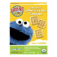 Earth's Best Sesame Street Organic Letter of the Day Cookies