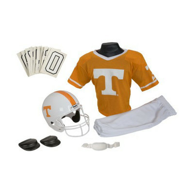 Franklin Sports Tennessee Deluxe Helmet and Uniform Set - Medium