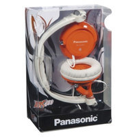 Panasonic DJ StreetStyle Over-the-Ear Headphone - Orange (RP-DJS400-D)