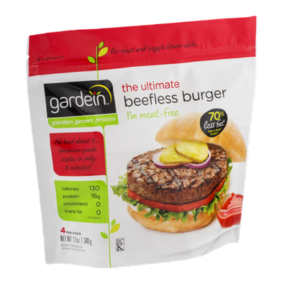 Gardein The Ultimate Beefless Burger - 4 CT