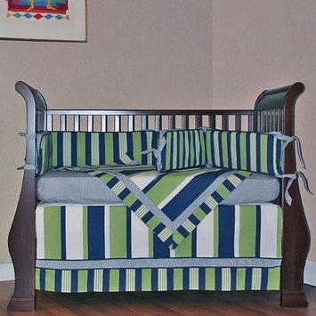 Hoohobbers Lacrosse 4 Piece Crib Bedding Set