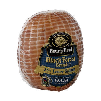 Boar's Head Black Forest Ham Boneless Smoked 25% Lower Sodium