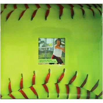 MCS Fast Pitch Scrapbook - Green (12x12