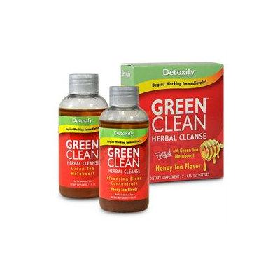 Detoxify Brand - Green Clean Herbal Cleanse Honey Tea Flavor - 8 oz.