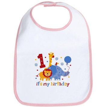 CafePress Newborn Safari 1st Birthday Bib