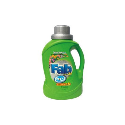 Phoenix Brands PBC 37060 Fab He Liq Laundry Detergent Spring Magic- 50 oz. - Case of 6