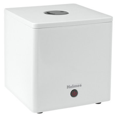 Holmes Ultrasonic Cube Humidifier- White